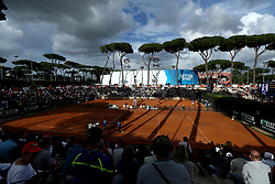 May 14, 2018 - Rome, Italy - Tennis ATP Internazionali d'Italia BNL First Round.A view of the courts of Foro Italico in Rome, Italy on May 14, 2018. (Credit Image: © Matteo Ciambelli/NurPhoto via ZUMA Press)