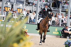 Whitaker William, GBR, Utamaro D Ecaussines<br /> Rolex Grand Prix Jumping<br /> Royal Windsor Horse Show<br /> © Hippo Foto - Jon Stroud