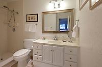 Bathroom interior of luxury villa