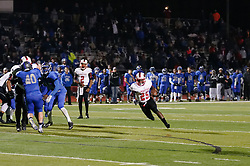 In the PIAA State Championship Imhotep Panthers advance to the Semi Finals with a 46-16 win over Academy Park Knights. (photo by Bastiaan Slabbers)<br /> <br /> Panther 25 is en route to a TD