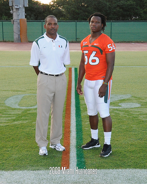 2008 University of Miami Football Photo Day