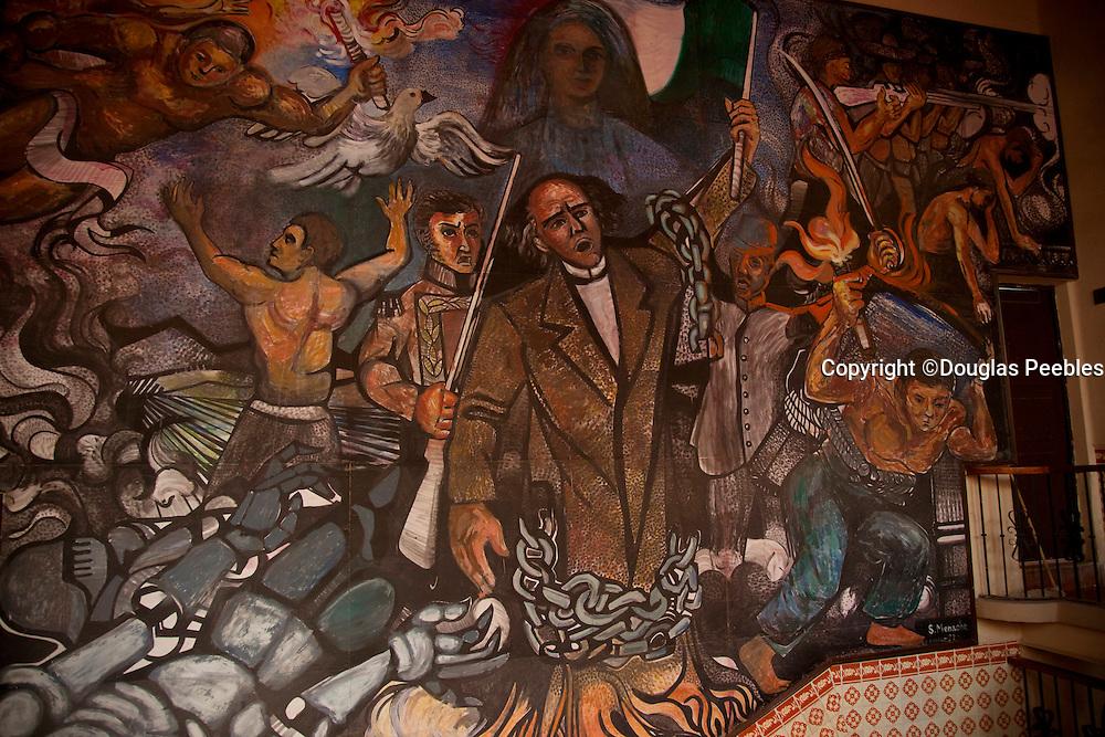 Mural by S. Menache, Dolores Hidalgo, Guanajuato, Mexico