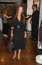 TAMARA MELLON at a party hosted by Elizabeth Saltzman and Harvey Nichols to celebrate the UK launch of New York fashion designer Tory Burch held at the Fifth Floor Restaurant, Harvey Nichols, Knightsbridge, London on 24th May 2006.<br /><br />NON EXCLUSIVE - WORLD RIGHTS