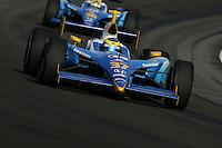 Sebastien Bourdais and Bruno Junqueira at the Indianapolis Motor Speedway, Indianapolis 500, May 29, 2005