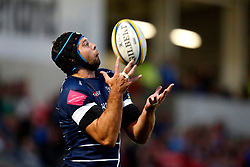 Josh Beaumont of Sale Sharks - Mandatory by-line: Matt McNulty/JMP - 07/04/2017 - RUGBY - AJ Bell Stadium - Sale, England - Sale Sharks v Worcester Warriors - Aviva Premiership