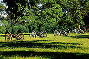 Image of cannons in Artillery Park at Valley Forge National Historical Park, Pennsylvania, American Northeast