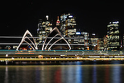 Sydney Harbour Night Lines