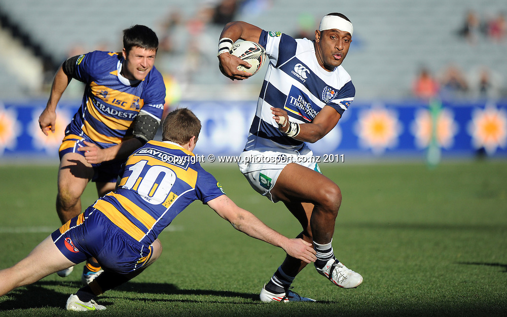Auckland winger Joe Rokocoko in action during the ITM rugby union match, Auckland versus BOP at Eden Park on Saturday 20 August 2011Photo: Andrew Cornaga / photosport.co.nz