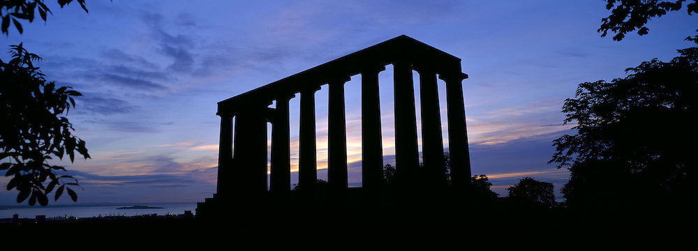 The Unfinished Parthenon on Calton Hill, Edinburgh