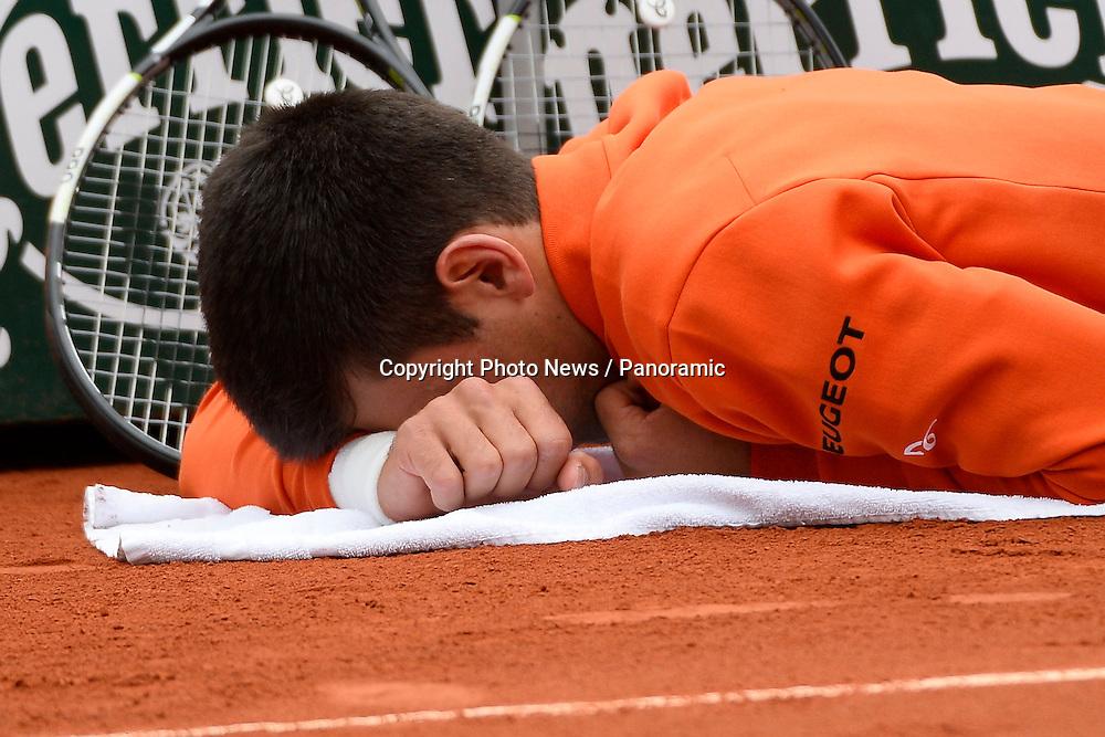 Novak Djokovic (Ser)  Blessure