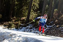 Paulina Fialkova (SVK) during the Women 15 km Individual Competition at day 2 of IBU Biathlon World Cup 2019/20 Pokljuka, on January 23, 2020 in Rudno polje, Pokljuka, Pokljuka, Slovenia. Photo by Peter Podobnik / Sportida