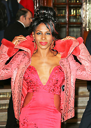 © Licensed to London News Pictures. 26/03/2014, UK. JJ Sinitta, I Can't Sing! The X Factor Musical - press night, London Palladium, London UK, 26 March 2014. Photo credit : Richard Goldschmidt/Piqtured/LNP