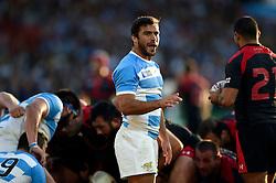 Martin Landajo of Argentina - Mandatory byline: Patrick Khachfe/JMP - 07966 386802 - 25/09/2015 - RUGBY UNION - Kingsholm Stadium - Gloucester, England - Argentina v Georgia - Rugby World Cup 2015 Pool C.