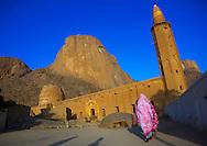 Kassala, Sudan, Khatmiyah mosque at the base of the Taka mountains.