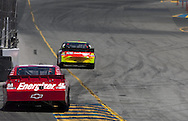 SONOMA, CA - June 20, 2010:  Juan Pablo Montoya races off turn four during the Toyota/Save Mart 350 race at Infineon Raceway in Sonoma, CA.