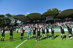 Team of NS Mura after football match between NS Mura and NK Maribor in 10th Round of Prva liga Telekom Slovenije 2018/19, on September 30, 2018 in Mestni stadion Fazanerija, Murska Sobota, Slovenia. Photo by Mario Horvat / Sportida