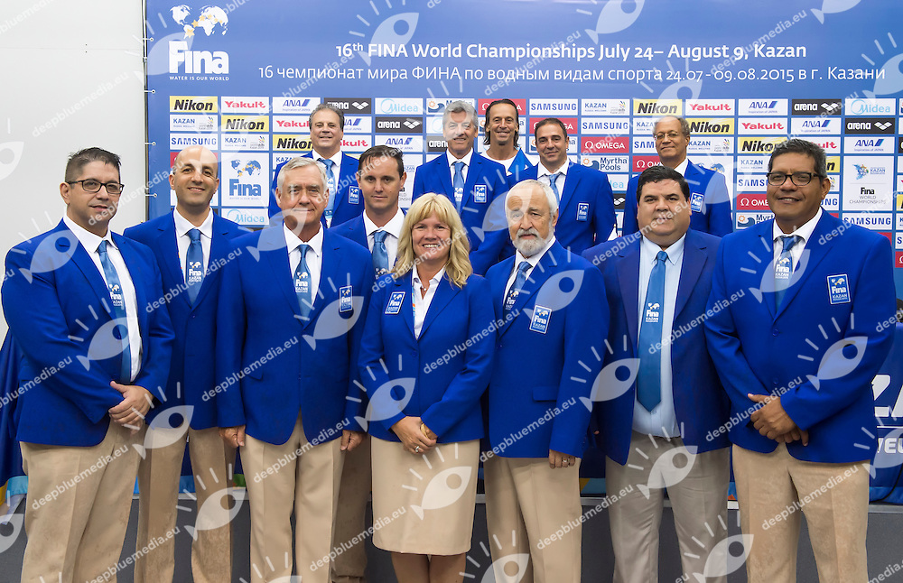 XXX<br /> High Diving - FINA Technical Committee<br /> 01/08/2015<br /> XVI FINA World Championships Aquatics Swimming<br /> Kazan Tatarstan RUS July 24 - Aug. 9 2015 <br /> Photo Giorgio Perottino/Deepbluemedia/Insidefoto