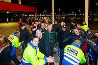 ALKMAAR - 21-11-2015, AZ -  sc Heerenveen , AFAS Stadion, controle, beveiliging,