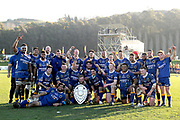 The Otago team gets a team photo following during the Ranfurly Shield match between Otago and North Otago, held at Whitestone Contracting Stadium, Oamaru, New Zealand, 26 July 2019. Credit: Joe Allison / www.Photosport.nz