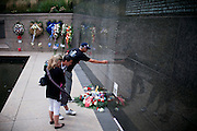 People remember the 10th anniversary of the 9/11 attacks on the Word Trade Centre, in Lower Manhattan, New York, USA, .