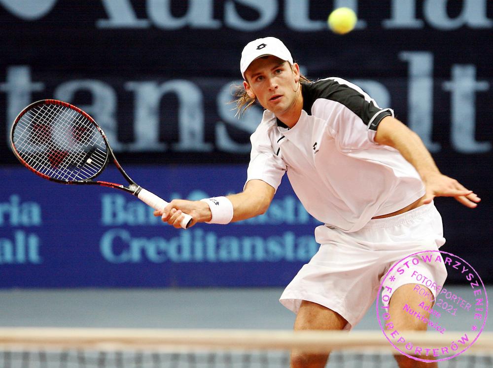 GEPA-0810066036 - WIEN,AUSTRIA,08.OKT.06 - TENNIS - BA-CA Tennis Trophy 2006, ATP, Qualifikation. Bild zeigt Lukasz Kubot (POL). Foto: GEPA pictures/ Philipp Schalber..FOT. GEPA / WROFOTO..*** POLAND ONLY !!! ***