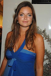 LADY NATASHA RUFUS-ISAACS at a party to launch jeweller Boodles new store at 178 New Bond Street, London W1 on 26th September 2007.<br />