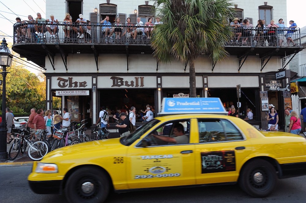 Bull and Whistle Bar, Duval Street, Key West..Florida 2009..Foto © Stefan Falke.