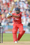 Ashwell Prince during the NatWest T20 Blast Semi Final match between Hampshire County Cricket Club and Lancashire County Cricket Club at Edgbaston, Birmingham, United Kingdom on 29 August 2015. Photo by David Vokes.