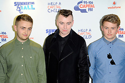 Capital Summertime Ball<br /> Disclosure during photocall ahead of performing at the Capital Summertime Ball, Wembley Stadium,<br /> London, United Kingdom<br /> Sunday, 9th June 2013<br /> Picture by Chris  Joseph / i-Images