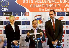 20141112 BEL: Loting EK volleybal 2015 vrouwen, Antwerpen
