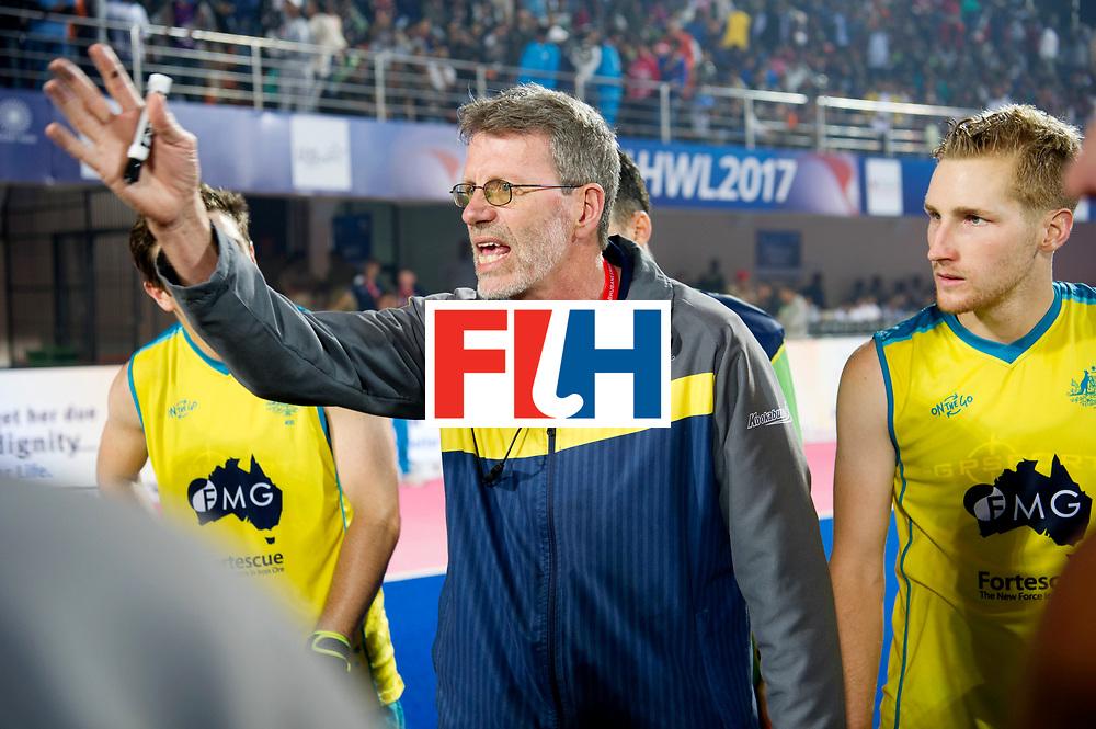 Odisha Men's Hockey World League Final Bhubaneswar 2017<br /> Match id:02<br /> Australia v India<br /> Foto: Colin BATCH, coach <br /> WORLDSPORTPICS COPYRIGHT FRANK UIJLENBROEK