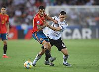 FUSSBALL UEFA U21-EUROPAMEISTERSCHAFT FINALE 2019  in Italien  Spanien - Deutschland   30.06.2019 Dani Ceballos (li, Spanien) gegen Maximilian Eggestein (Deutschland)