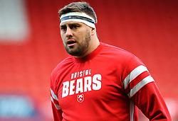 Nick Haining of Bristol Bears looks on- Mandatory by-line: Nizaam Jones/JMP - 19/01/2019 - RUGBY - Ashton Gate Stadium - Bristol, England - Bristol Bears v Enisei-STM - European Rugby Challenge Cup
