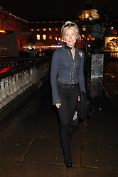DAPHNE GUINNESS at a Winter Party to celebrate the opening of the Ice Rink at Somerset House, London in association with jewellers Tiffany on 20th November 2007.<br /><br />NON EXCLUSIVE - WORLD RIGHTS