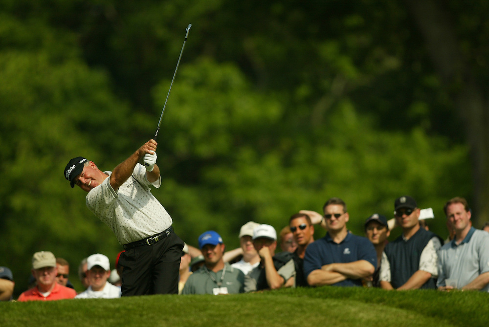 2003 U.S. Open..First Round..Olympia Fields CC..Chicago, IL..Thursday June 12 2003..photograph by Darren Carroll