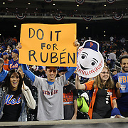 Fans at the New York Mets Vs Los Angeles Dodgers, game three of the NL Division Series at Citi Field, Queens, New York. USA. 12th October 2015. Photo Tim Clayton for The Players Tribune