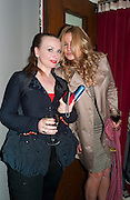 JUDITH OWEN; JENNIFER COOLIDGE, Press night for Ruby Wax- Losing it. Duchess theatre. London. 1 September 2011. <br /> <br />  , -DO NOT ARCHIVE-© Copyright Photograph by Dafydd Jones. 248 Clapham Rd. London SW9 0PZ. Tel 0207 820 0771. www.dafjones.com.