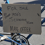1950s-vintage 10-speed Schwinn bicycle for sale. Bike-tography by Martha Retallick.