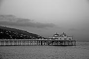 Malibu Pier at dusk, Summer