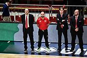 DESCRIZIONE : Milano Final Eight 2016 <br /> Giorgio Tesi Group Pistoia-Dolomiti Energia Trento<br /> GIOCATORE : Vincenzo Esposito<br /> CATEGORIA : Inno Nazionale<br /> SQUADRA : Giorgio Tesi Group Pistoia<br /> EVENTO : Final Eight 2016<br /> GARA : Giorgio Tesi Group Pistoia-Dolomiti Energia Trento<br /> DATA : 19/02/2016<br /> SPORT : Pallacanestro<br /> AUTORE : Agenzia Ciamillo-Castoria/M.Matta<br /> Galleria : Final Eight 2016 <br /> Fotonotizia: Milano Final Eight 2016 Giorgio Tesi Group Pistoia-Dolomiti Energia Trento