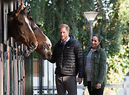 Meghan Markle & Harry Visit Equestrian Sports
