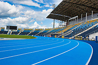 Full length view athlete stadium
