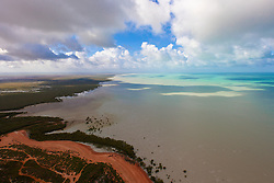 Storms over Roebuck Bay in the Kimberley wet season.