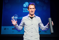 Grega Zemlja at Slovenian Tennis personality of the year 2016 annual awards presented by Slovene Tennis Association Tenis Slovenija, on December 7, 2016 in Siti Teater, Ljubljana, Slovenia. Photo by Vid Ponikvar / Sportida