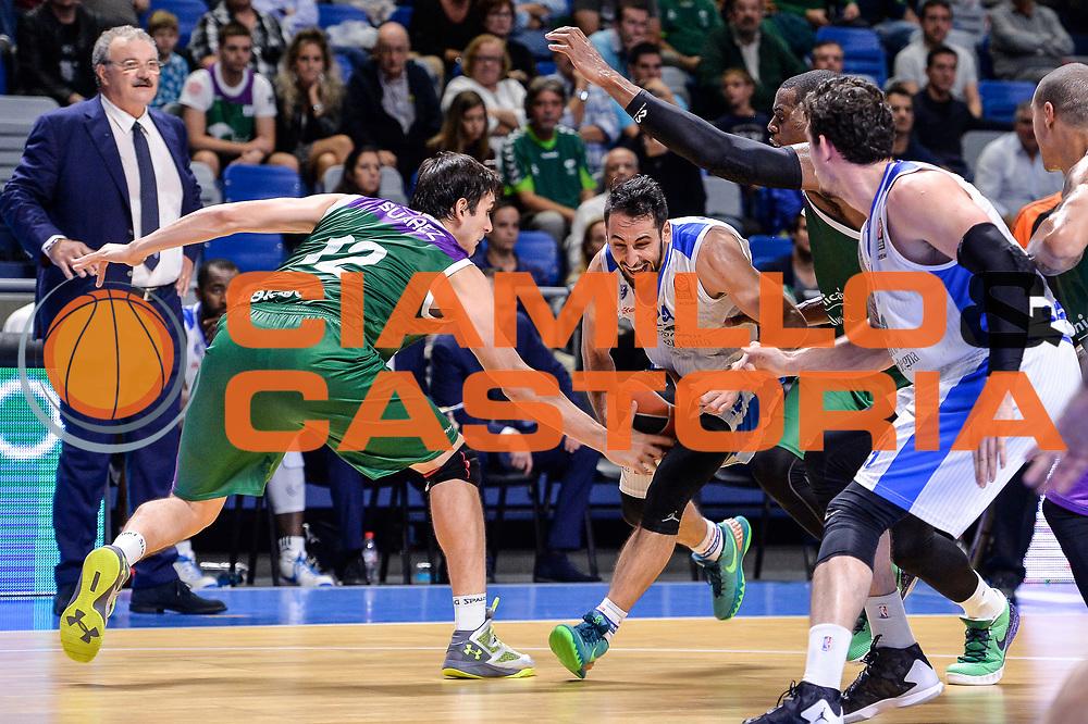 DESCRIZIONE : Eurolega Euroleague 2015/16 Group D Unicaja Malaga - Dinamo Banco di Sardegna Sassari<br /> GIOCATORE : Rok Stipcevic<br /> CATEGORIA : Penetrazione<br /> SQUADRA : Dinamo Banco di Sardegna Sassari<br /> EVENTO : Eurolega Euroleague 2015/2016<br /> GARA : Unicaja Malaga - Dinamo Banco di Sardegna Sassari<br /> DATA : 06/11/2015<br /> SPORT : Pallacanestro <br /> AUTORE : Agenzia Ciamillo-Castoria/L.Canu