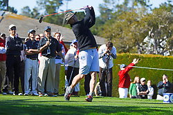 Feb 8, 2012; Pebble Beach CA, USA;  Movie actor Bill Murray during the celebrity challenge of the AT&T Pebble Beach Pro-Am at Pebble Beach Golf Links. Mandatory Credit: Jason O. Watson-US PRESSWIRE