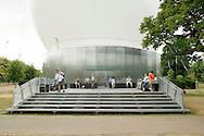 SERPENTINE PAVILION 2006, LONDON, W2 PADDINGTON, UK, REM KOOLHAAS - OFFICE FOR METROPOLITAN ARCHITECTURE, EXTERIOR, MAIN ENTRANCE