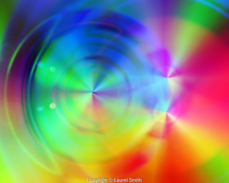 The Golden Age is NOW #20 ~ <br /> Created on the Summer Solstice 2015. This series reveals a time travel portal that can be used by the viewer in meditation or mystical visionary journey to bring forth the presence of the Golden Age. ~ © Laurel Smith
