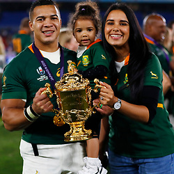 Cheslin Kolbe during the Rugby World Cup Final match between South Africa Springboks and England Rugby World Cup Final at the International Stadium Yokohama  Japan.Saturday 02 November 2019. (Mandatory Byline -Steve Haag Sports Hollywoodbets)