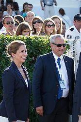HRH Princess Haya (JOR), Ingmar De Vos (BEL)<br /> Furusiyya FEI Nations Cup Jumping Final <br /> CSIO Barcelona 2013<br /> © Dirk Caremans